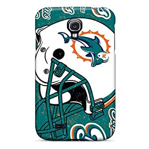 Cases Covers Protector For Galaxy S4 Cases - Miami Dolphins
