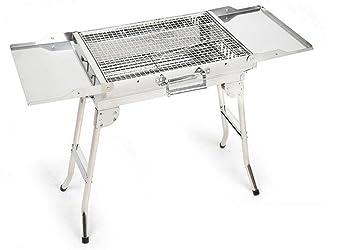BBQER-A Parrilla de la barbacoa del carbón de leña del acero ...