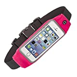 Wildcamel WL-039 Lycra Pouch Running Belt with Clear Touch Screen Window and Dual Large Pocket for Cycling,Walking and Running,Perfect for iPhone 6,6S Plus / Samsung Galaxy S6 Edge Plus / Note 3,4,5 Review