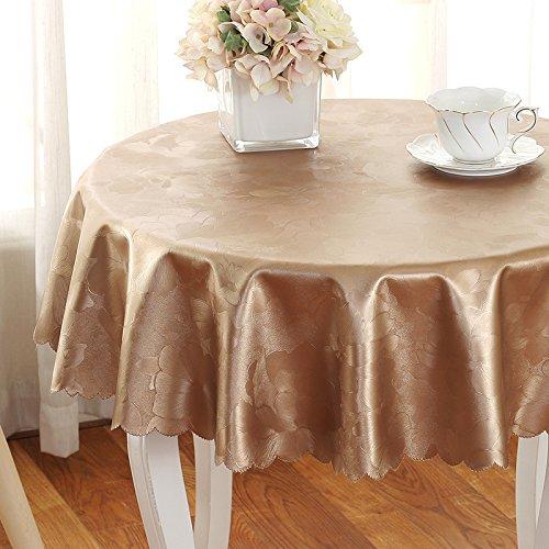 FLYRCX FLYRCX FLYRCX Öl- und Wasserabweisend Anti Heiße runde Tischdecke verfügbaren Haushaltseinkommen Tischdecke Staub. Europeum Hotel, Durchmesser 200 cm, C B07MQ5QC9H Tischdecken 59975b