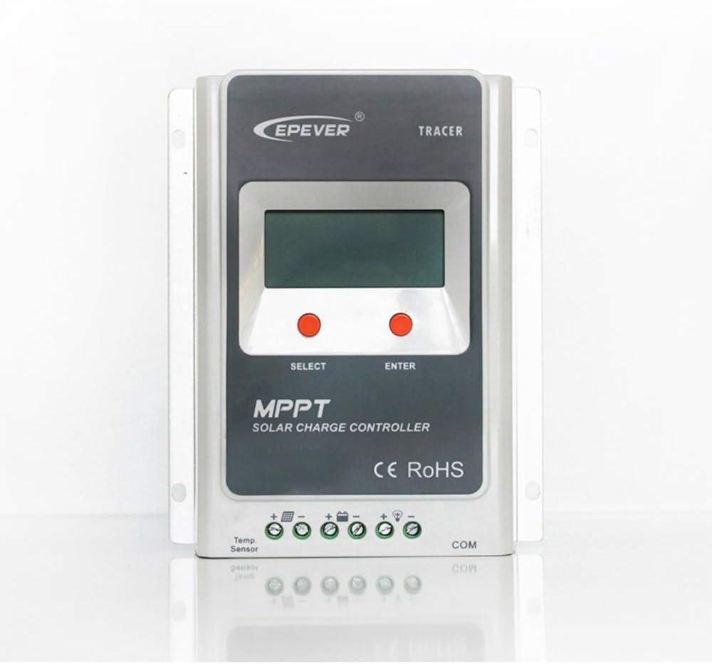 Regulador Maximizador MPPT 40A 12V 24V LCD Tracer 4210A regulador de Carga para Todos Tipos de instalación Solar