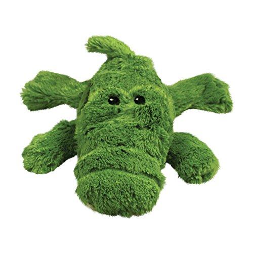Soft Plush Dog Chew Toy (KONG Cozie Ali the Alligator Medium Dog Toy, Green)