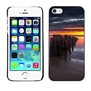 Print Motif Coque de protection Case Cover // F00002685 fondo negro frontera de la foto // Apple iPhone 5 5S 5G