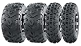 Set of 4 New Sport ATV Tires AT 23x7-10 Front & 22x11-10 Rear /6PR -10063/10252