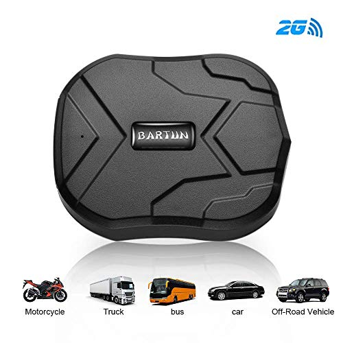 BARTUN Vehicles GPS Tracker Magnet Tracking for Cars Motorcycle Wireless...