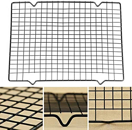 Appearantes Home Kitchen Baking Easy Clean Nonstick Cooling Rack Mesh Grid Drying Stand
