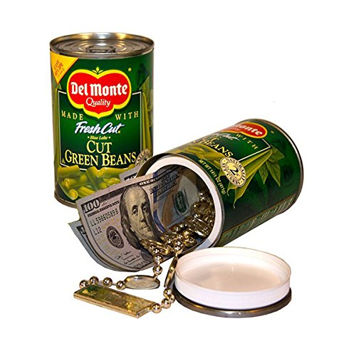 Hidden Diversion Can Safe Secret Storage Container - Del Monte Green Beans (Storage Secret Safe)
