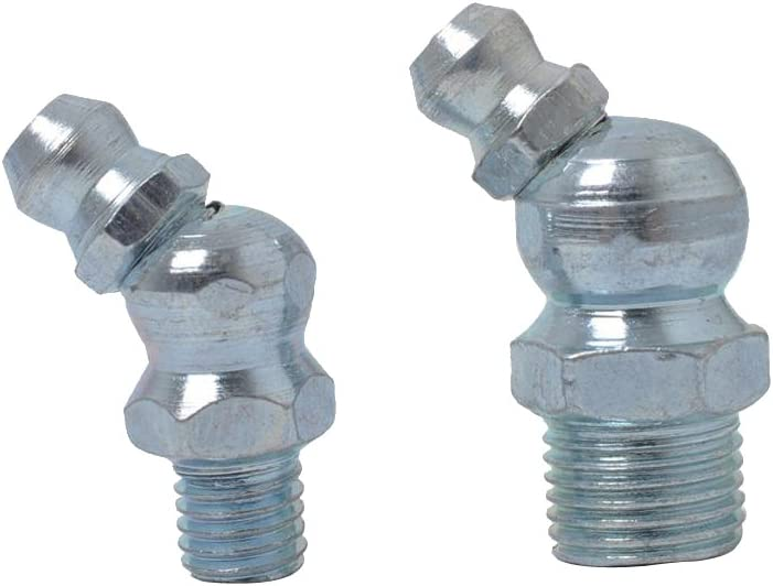 Equipo Marino Junta Non-brand 50pcs 1//4  1//8  Engrase Hidr/áulico Zerk Que Cabe El Equipo De SAE Para La Maquinaria Asiento Que Lleva Autom/óvil