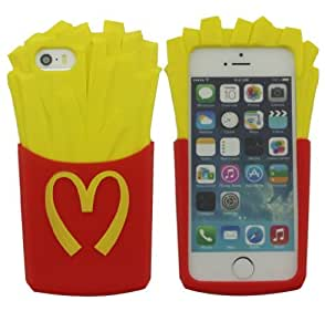 LETOiNG-5GJ#15 Silicone 3D Chips Design Case / Skin / Cover for iPhone 5/5S