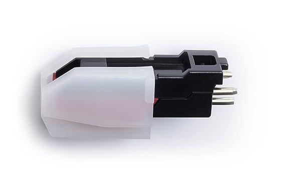 ION Audio CZ-800-10 - Cápsula Cerámica y Aguja de Repuesto para Plato Giradiscos, Tocadiscos