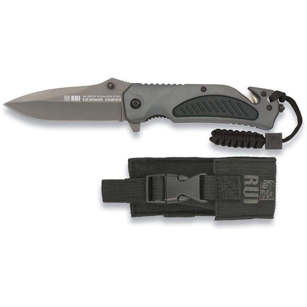 Cortador de cinta RUI navaja cuchillo del rescate del ...