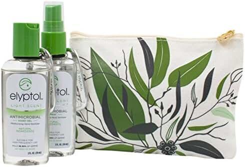 Elyptol Natural Hand Sanitizer Travel Pack (Gel Spray) - 6.5 oz