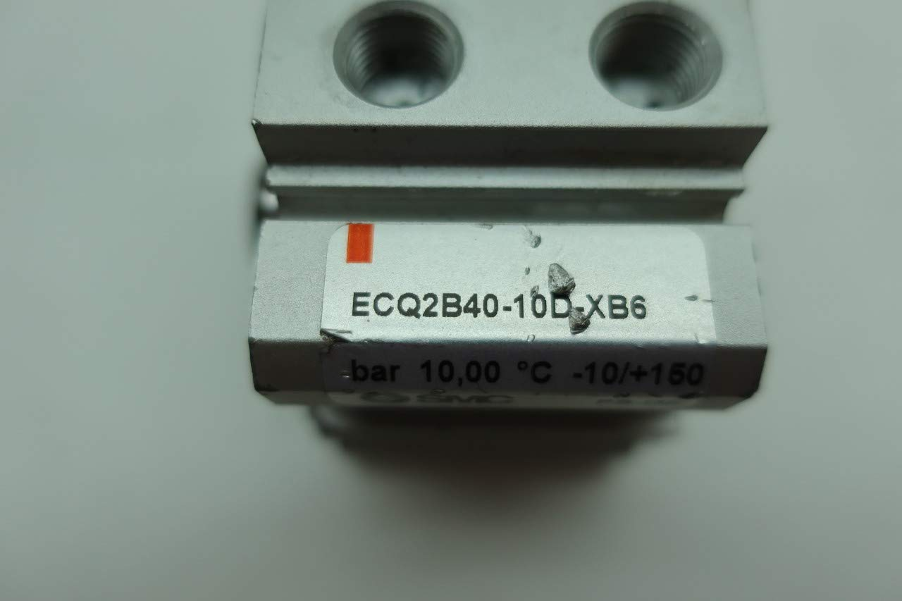 SMC ECQ2B40-10D-XB6 Double Acting Pneumatic Cylinder 40MM 10BAR 10MM