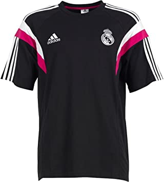 adidas Camiseta Real Madrid Paseo -Negro- 2014-15: Amazon.es ...