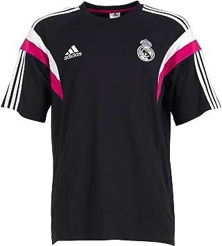 adidas Camiseta Real Madrid Paseo -Negro- 2014-15: Amazon.es ...