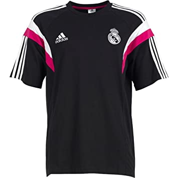 Camiseta Real Madrid Paseo -Negro- 2014-15  Amazon.es  Deportes y ... 000ac3467c5d1