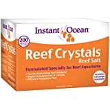 Instant Ocean Reef Crystal Sea Salt Marine Mix, 200-Gallon