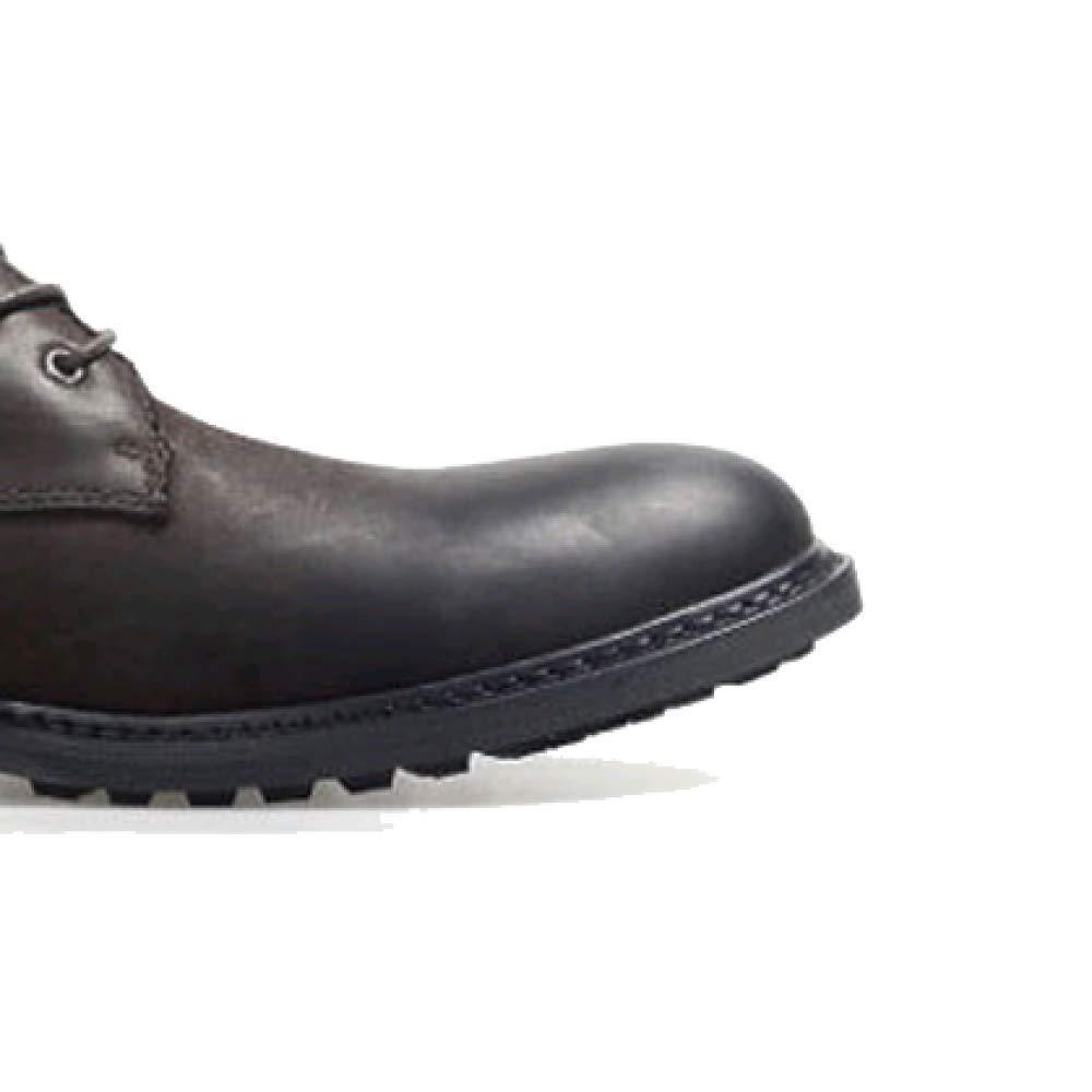 Leder Herren Stiefel British Stiefel Stiefel Casual High Top Tooling Stiefel Stiefel Mode Stiefel Braun 793e05