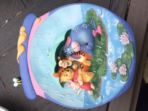 Disney Winnie Pooh Collectible Plate (Disney Winnie The Pooh Just A Small Piece of Weather 3D Bradford Exchange Plate)