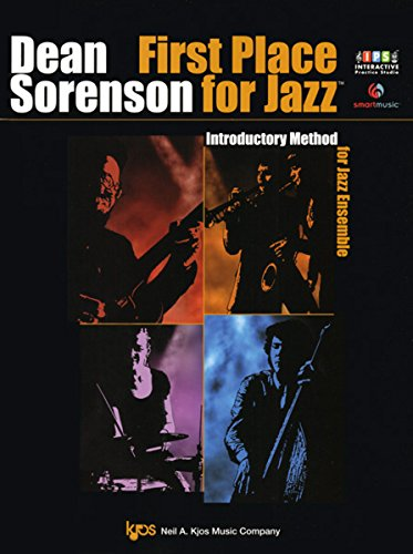 W75F - First Place for Jazz - Introductory Method for Jazz Ensemble - Director Score - Audio & Video DVD by KJOS