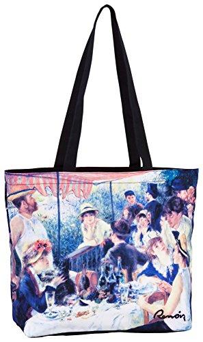 """VON LILIENFELD Borsa shopper Pierre-Auguste Renoir: """"La colazione dei canottieri"""""""