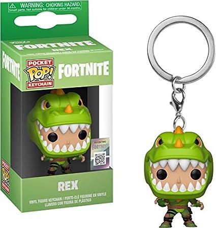 Funko Fortnite llavero con anilla Rex Pocket POP! 4cm