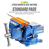 GarMills 2 Pack Magnetic Vise Jaw Pads Covers