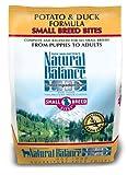Natural Balance Small Bites Potato and Duck Formula Food, 5-Pound Bag, My Pet Supplies