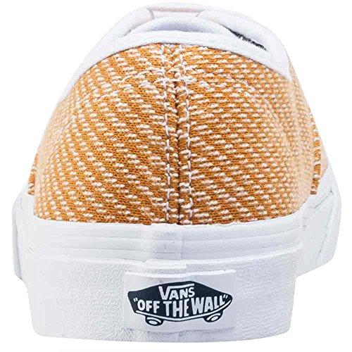 Vans Authentic Slim, Scarpe da Ginnastica Unisex – Adulto Gold White