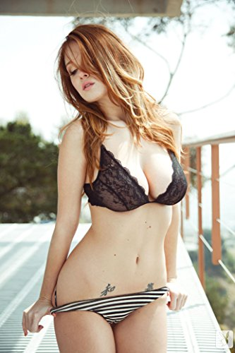 Leanna Decker Sexy Girl USA Hot Star Fabric Cloth Rolled Wall Poster Print -- Size: (36