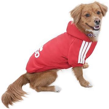 Eastlion adidog Hunde Warm Hoodies Mantel Kleidung Pullover Haustier Welpen T-Shirt