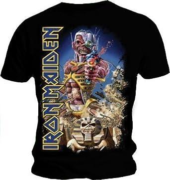 Producto oficial de T-camiseta de manga corta de IRON MAIDEN ...