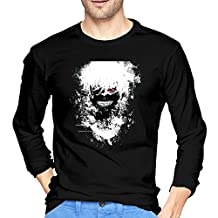 2016 Newest Tokyo Ghoul Soft Long Sleeve T Shirt Printing For Adult