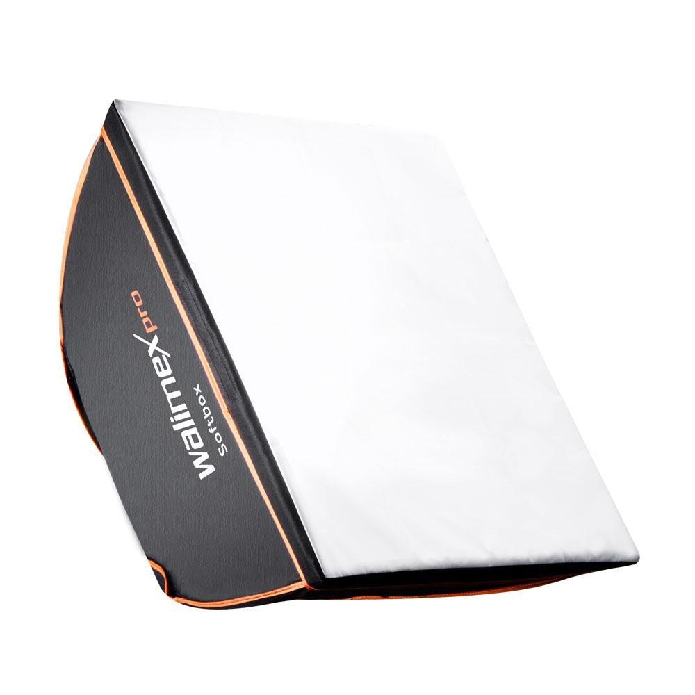 walimex pro 40x40cm Multiblitz Pソフトボックス - オレンジライン   B00A67F81I