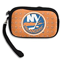 New York Islanders Logo Portable Purse&Key Wristlet Bag