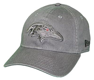New Era Baltimore Ravens NFL 9Twenty Classic Tonal Adjustable Graphite Hat from New Era