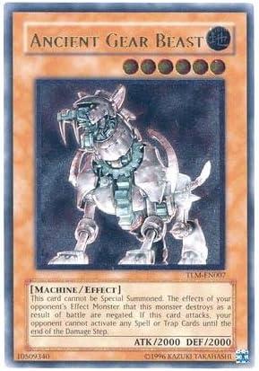 Yugioh Ancient Gear Beast TLM-EN007 Unlimited Rare Near Mint Fast Shipping!