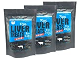 Cheap Real Beef Liver Dog Treats Made in USA – Grain, Wheat, Soy, Gluten Free – All Natural Snacks – 8 oz (3 Pack)