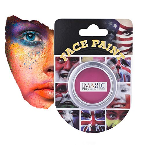 Face Body Paint Oil 7 Colors Imagic Professional Make up Tools Halloween Party Cosplay Children's Performance (Purple) ()