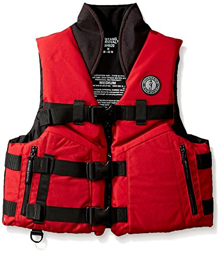 Mustang Survival Accel 100 High-Speed PFD, Red/Black, Small