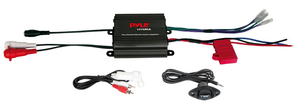 PYLPLMCS32 - PYLE PLMCS32 400-Watt Motorcycle ATV Snowmobile Mount with Dual Handlebar Mount Weatherproof 2.25'' Speakers (No Amp Included) by Pyle