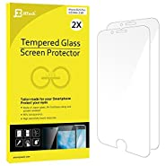 iPhone 6s Plus Screen Protector, JETech 2-Pack Premium Tempered Glass Eye Protection Screen Protector for Apple iPhone 6 and iPhone 6s Plus 5.5