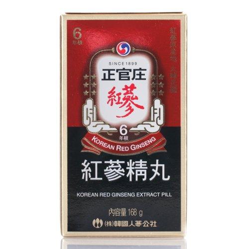 Чонг Kwanjang Кореей Женьшень Корпорация корейского красного женьшеня Экстракт Pill 168g