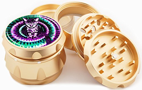 Trippy Kitty Gold Grinder 2.25