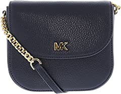 Constructed from pebbled leather in a dome-shaped silhouette, this Mott crossbody boasts on-the-go style. Understated logo hardware and chain-link accents add a hint of shine. With enough space to hold your keys, phone and wallet, it's the pe...