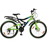 Hero Sprint 26T Winner 18 Speed Adult Cycle - Black & Green (18' Frame)