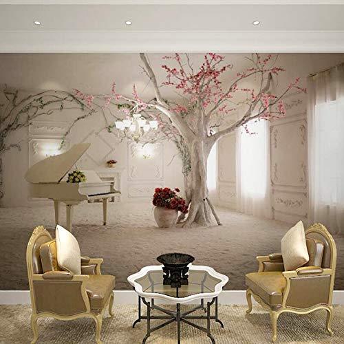 Best arte moderna pianoforte ramo di un albero foto for Pittura moderna soggiorno
