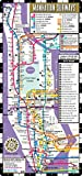 Streetwise Manhattan Bus Subway Map - Laminated Subway & Bus Map of Manhattan, New York (Michelin Streetwise Maps)