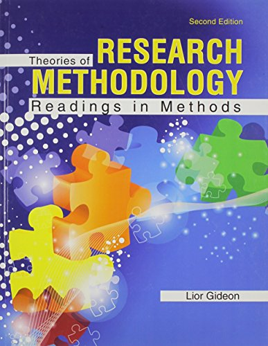 Theories of Research Methodology: Readings in Methods