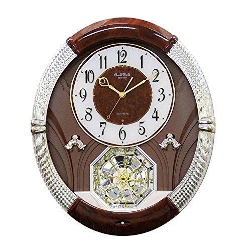 Brown Crystal Clock - Rhythm Clocks